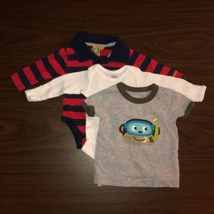Baby boy clothes - 0 to 3m - Lot 5